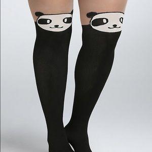 Torrid Panda Tights NWT size 3X 4X